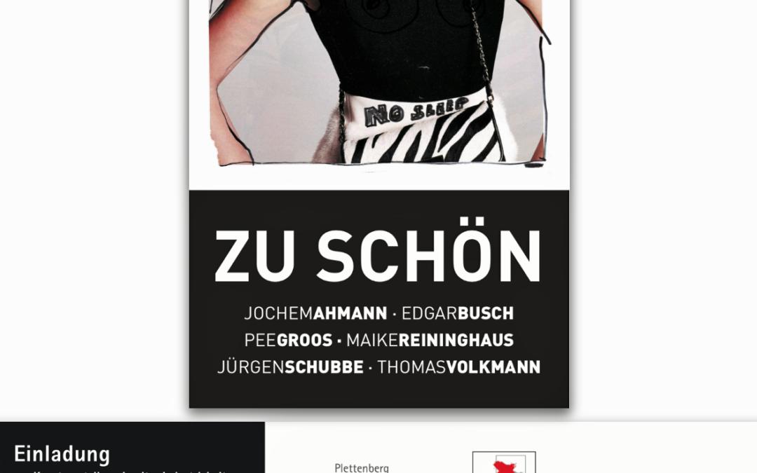 """""""Zu schön"""" -Ausstellung Kunsthalle Südwestfalen"""