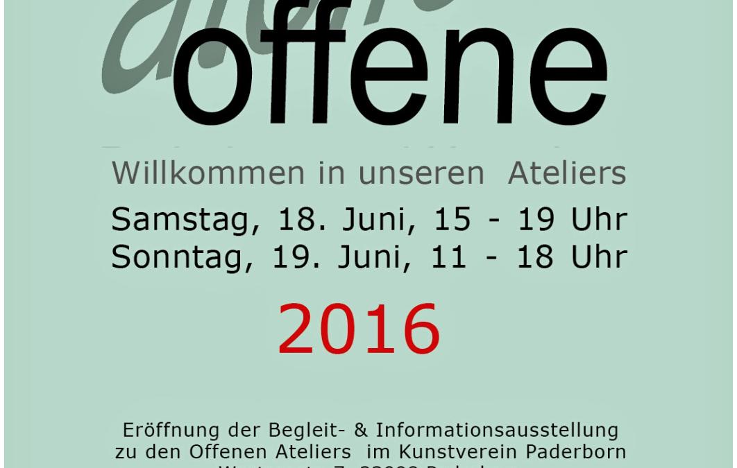 Offene Ateliers Paderborn 2016